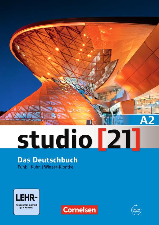 Studio [21] - Das Deutschbuch (Kurs- und Übungsbuch mit DVD-ROM) - A2: Gesamtband