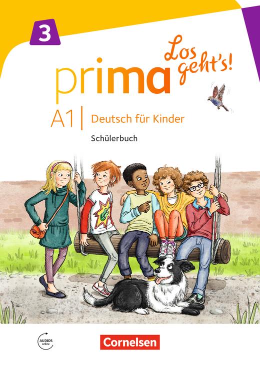 Prima - Los geht's! - Schülerbuch mit Audios online - Band 3