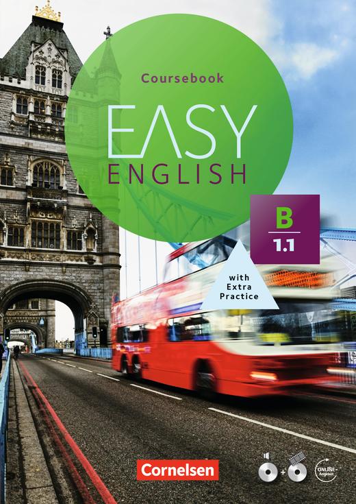 Easy English - Kursbuch mit Audio-CD und Video-DVD - B1: Band 1
