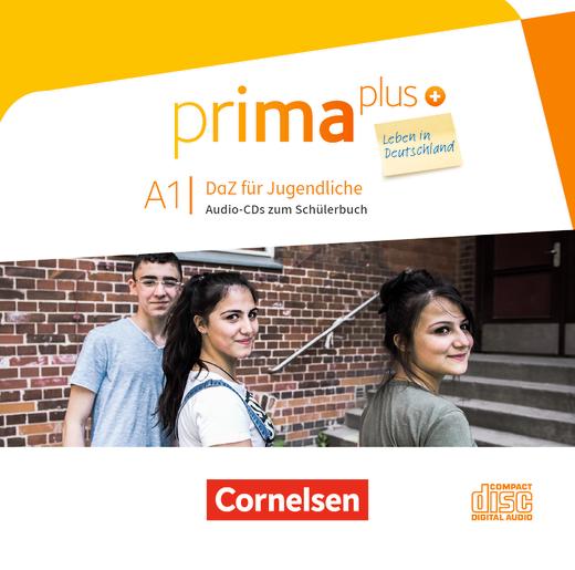 Prima plus - Leben in Deutschland - Audio-CDs zum Schülerbuch - A1