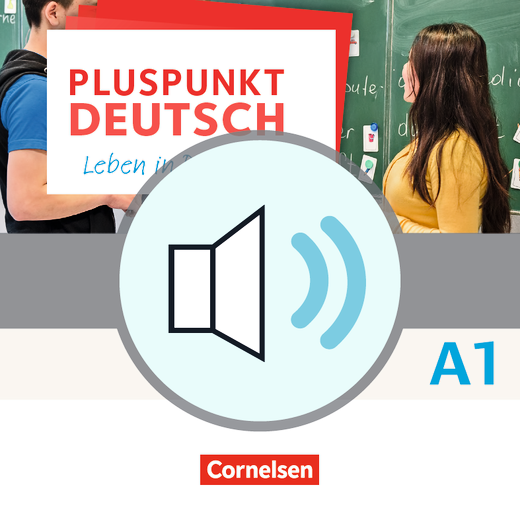 Pluspunkt Deutsch - Leben in Deutschland - Audio-Dateien zum Schülerbuch als MP3-Download - A1