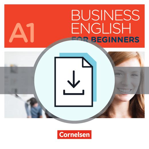 Business English for Beginners - Einstufungstest als Download - A1