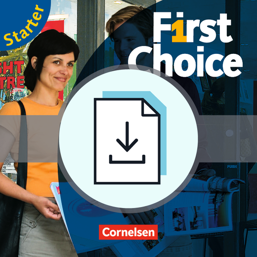 First Choice - Teaching Guide als Download - Starter
