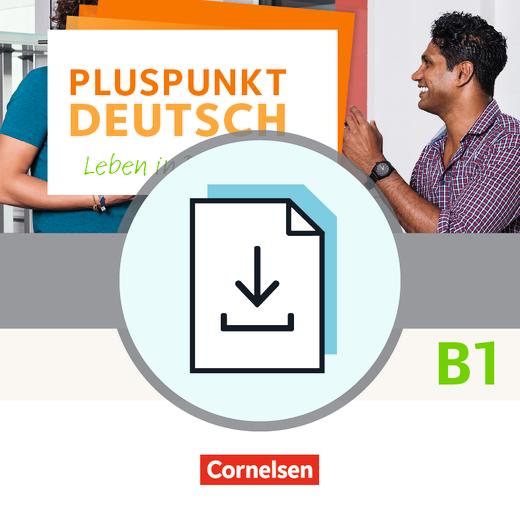 Pluspunkt Deutsch - Leben in Deutschland - Vokabeltaschenbuch Deutsch-Arabisch als Download - B1: Gesamtband