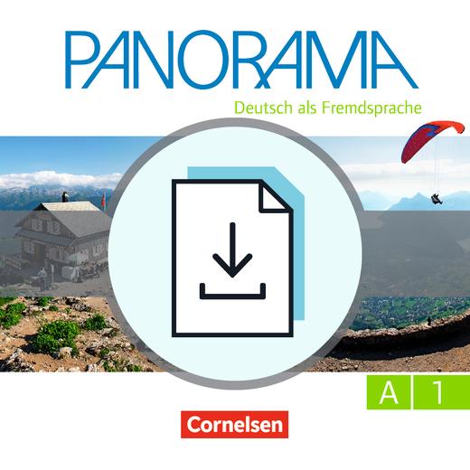 Panorama - Handreichungen für den Unterricht zum Übungsbuch DaZ als Download - A1: Gesamtband