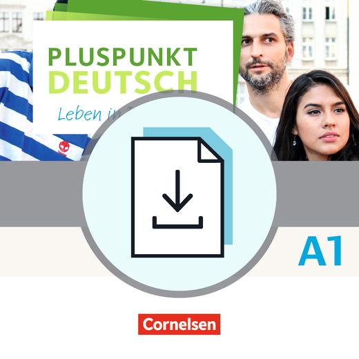 Pluspunkt Deutsch - Leben in Deutschland - Vokabeltaschenbuch Deutsch-Paschtu als Download - A1: Gesamtband