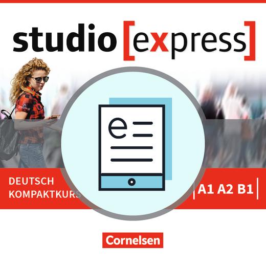 Studio [express] - Kursbuch als E-Book - A1-B1