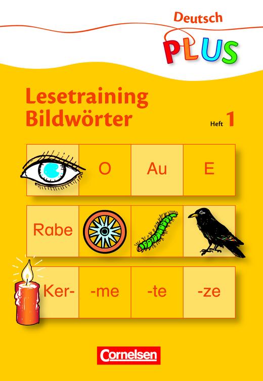 Deutsch plus - Grundschule - Bildwörter - Heft 1: Schwierigkeitsstufe 1