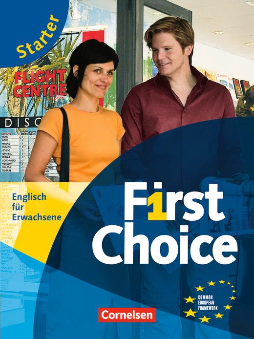 First Choice - Kursbuch mit CD und Phrasebook - Starter