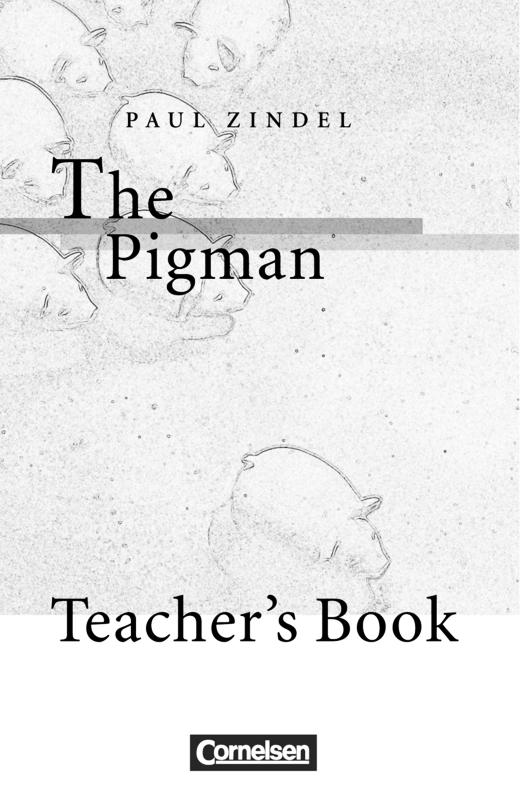 Cornelsen Senior English Library - The Pigman - Teacher's Manual - Ab 10. Schuljahr