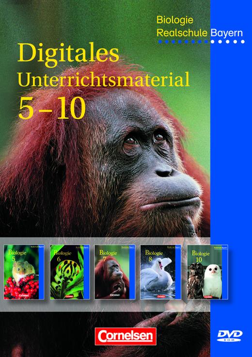Biologie - Unterrichtsmaterialien auf DVD-ROM - 5.-10. Jahrgangsstufe