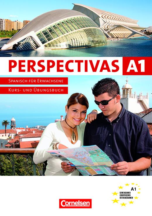 Perspectivas - Paket auténtica: Kurs- und Arbeitsbuch, Vokabeltaschenbuch - A1: Band 1