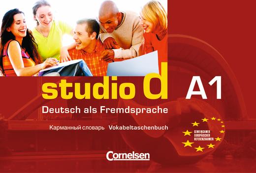 Studio d - Vokabeltaschenbuch Deutsch-Russisch - A1: Gesamtband