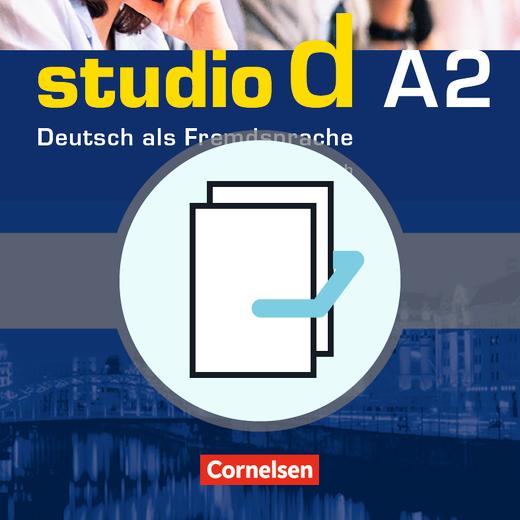 Studio d - Kurs- und Übungsbuch mit Lerner-CD und Sprachtraining - A2: Gesamtband
