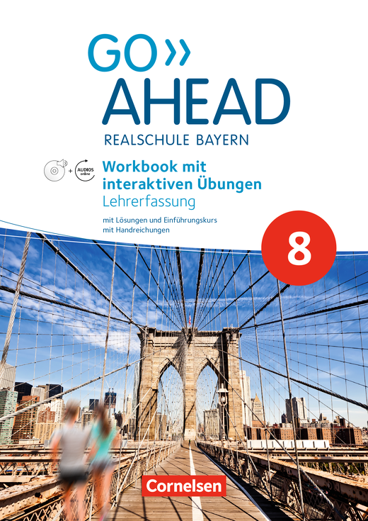 Go Ahead - Workbook mit interaktiven Übungen auf scook.de - Lehrerfassung - 8. Jahrgangsstufe
