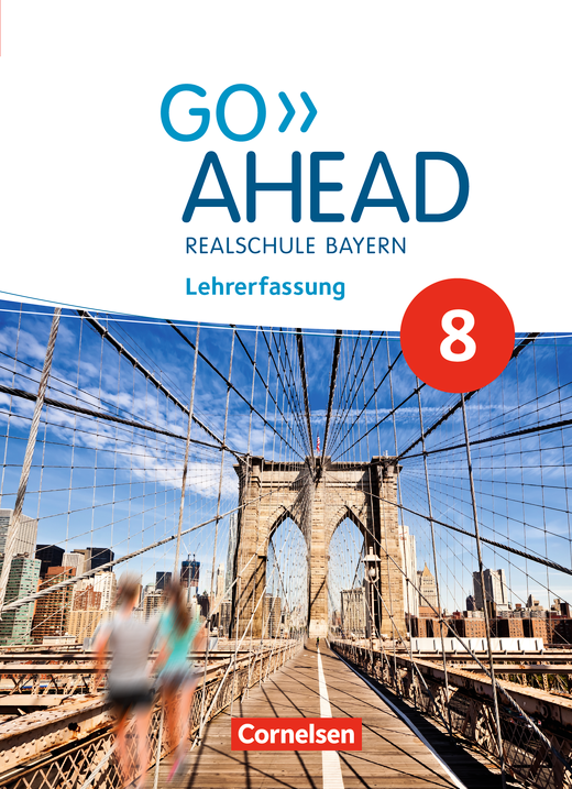 Go Ahead - Schülerbuch - Lehrerfassung - 8. Jahrgangsstufe