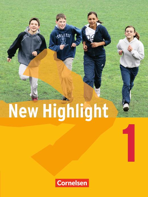 New Highlight - Schülerbuch - Band 1: 5. Schuljahr