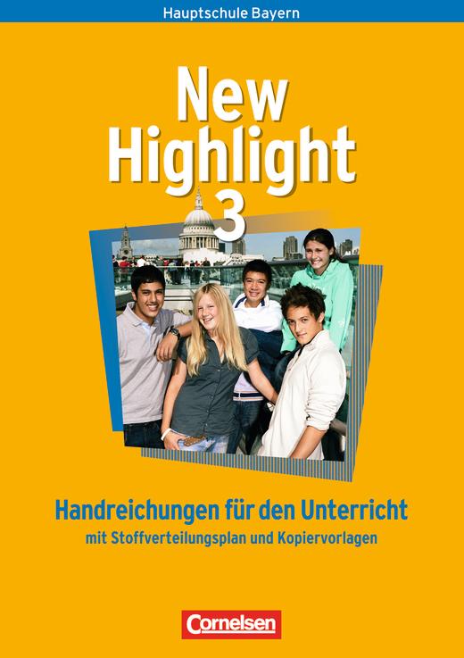 New Highlight - Handreichungen für den Unterricht - Band 3: 7. Jahrgangsstufe