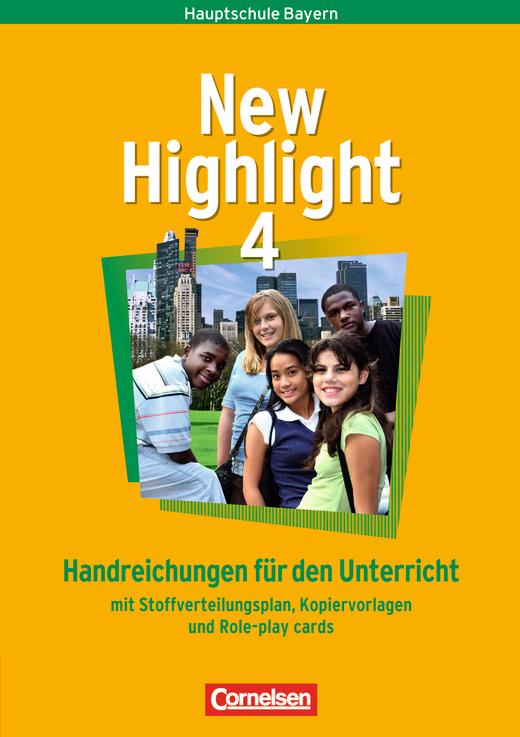 New Highlight - Handreichungen für den Unterricht - Band 4: 8. Jahrgangsstufe