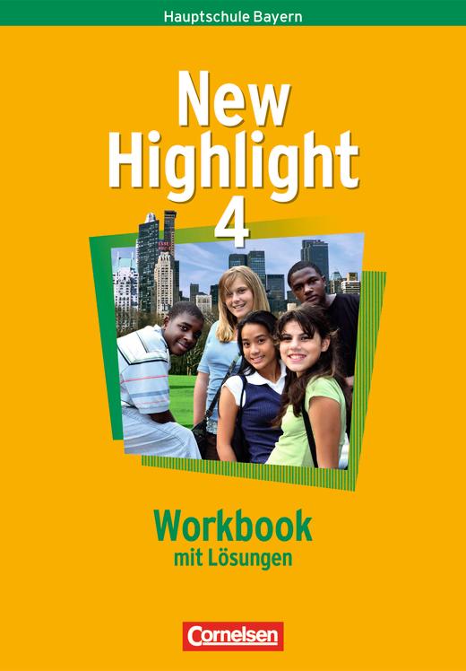 New Highlight - Workbook - Lehrerfassung - Band 4: 8. Jahrgangsstufe