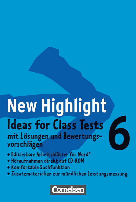 New Highlight - Ideas for Class Tests - CD-Extra - Band 6: 10. Schuljahr