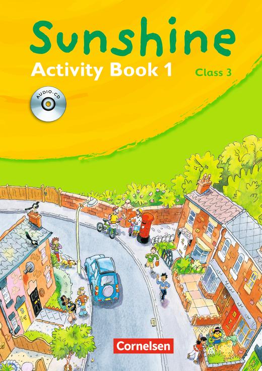 Sunshine - Activity Book mit Lieder-/Text-CD (Kurzfassung) - Band 1: 3. Schuljahr
