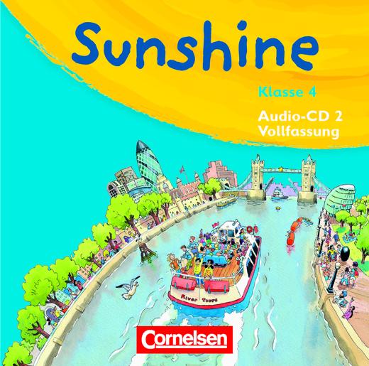 Sunshine - Lieder-/Text-CDs (Vollfassung) - Band 2: 4. Schuljahr