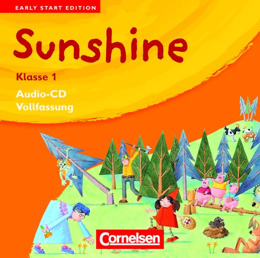 Sunshine - Lieder-/Text-CDs (Vollfassung) - Band 1: 1. Schuljahr