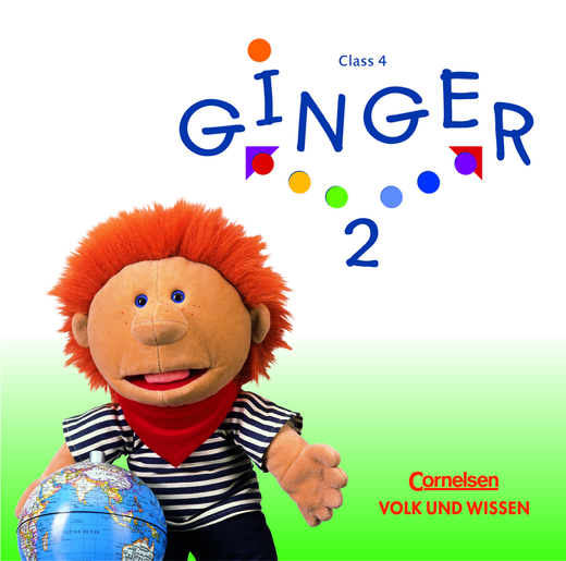 Ginger - Lieder-/Text-CDs - Band 2: 4. Schuljahr