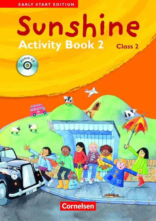 Sunshine - Activity Book mit Lieder-/Text-CD (Kurzfassung) - Band 2: 2. Schuljahr