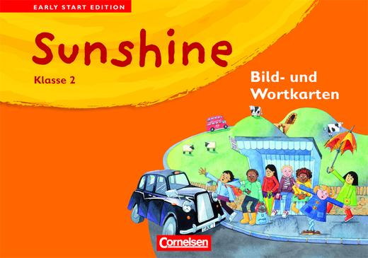 Sunshine - Bild- und Wortkarten - Band 2: 2. Schuljahr