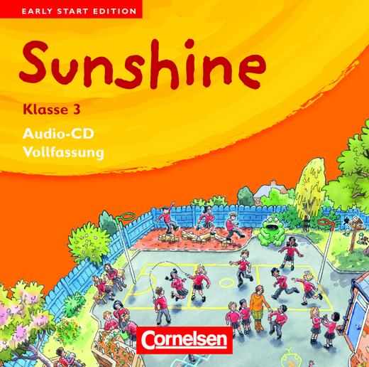 Sunshine - Lieder-/Text-CDs (Vollfassung) - Band 3: 3. Schuljahr