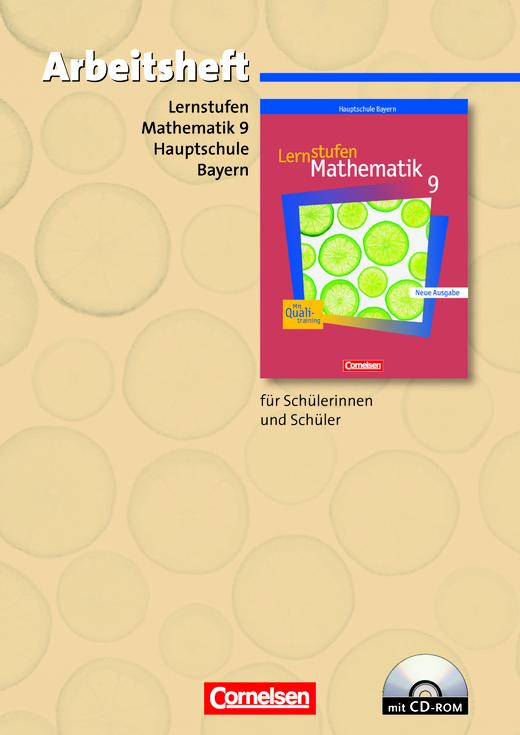 Lernstufen Mathematik - Arbeitsheft mit eingelegten Lösungen und CD-ROM - 9. Jahrgangsstufe