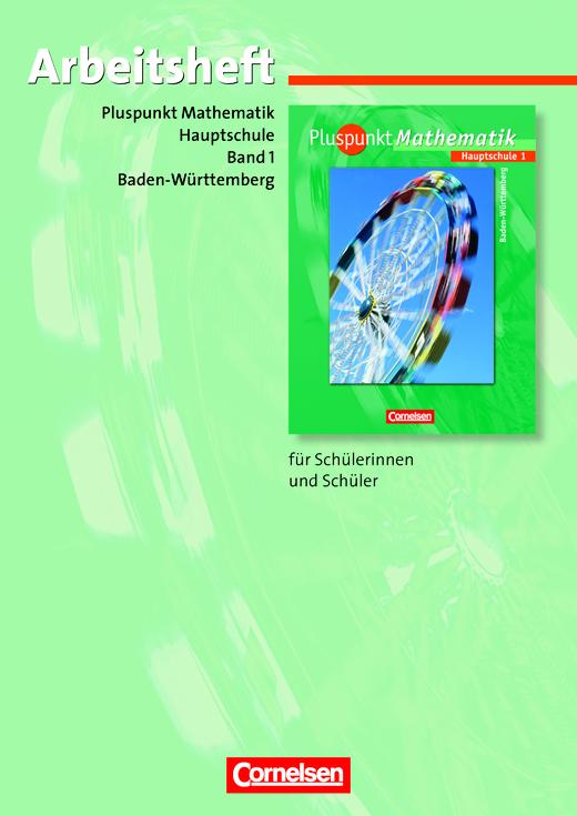Pluspunkt Mathematik - Arbeitsheft mit eingelegten Lösungen - Band 1