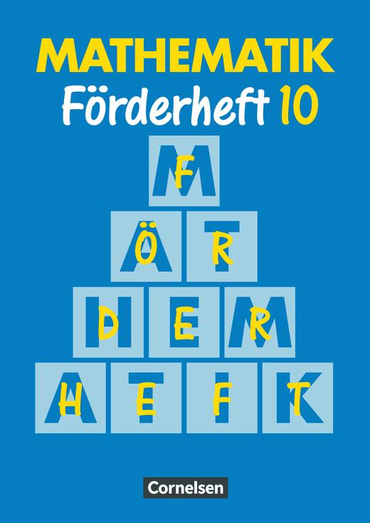 Mathematik Förderschule - Heft - Band 10