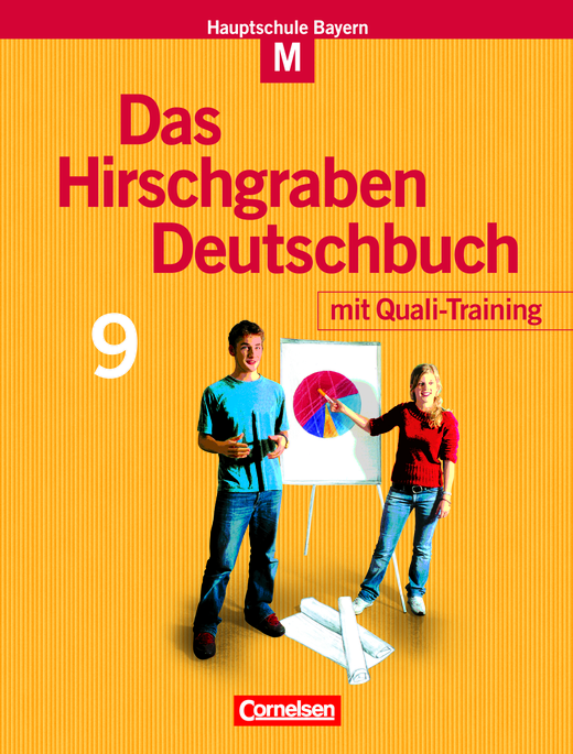 Das Hirschgraben Deutschbuch - Schülerbuch mit Quali-Training - 9. Jahrgangsstufe
