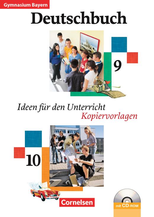 Deutschbuch Gymnasium - Ideen für den Unterricht - Kopiervorlagen, Arbeitsblätter mit Lösungen und CD-ROM - 9./10. Jahrgangsstufe