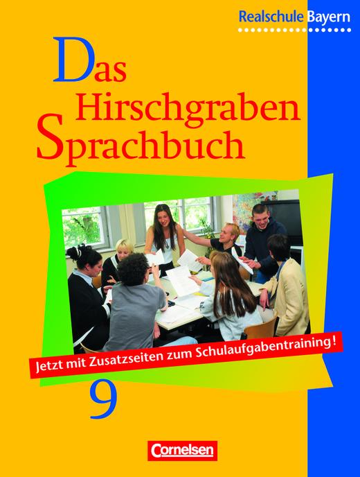 Das Hirschgraben Sprachbuch - Schülerbuch - 9. Jahrgangsstufe