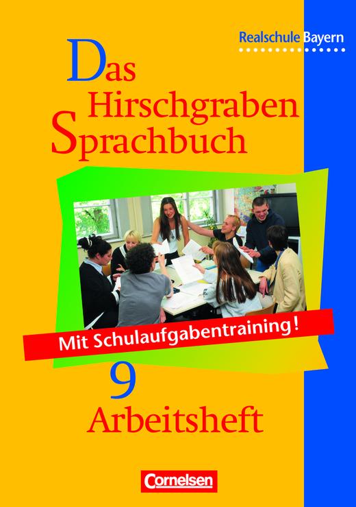 Das Hirschgraben Sprachbuch - Arbeitsheft mit Lösungen - 9. Jahrgangsstufe