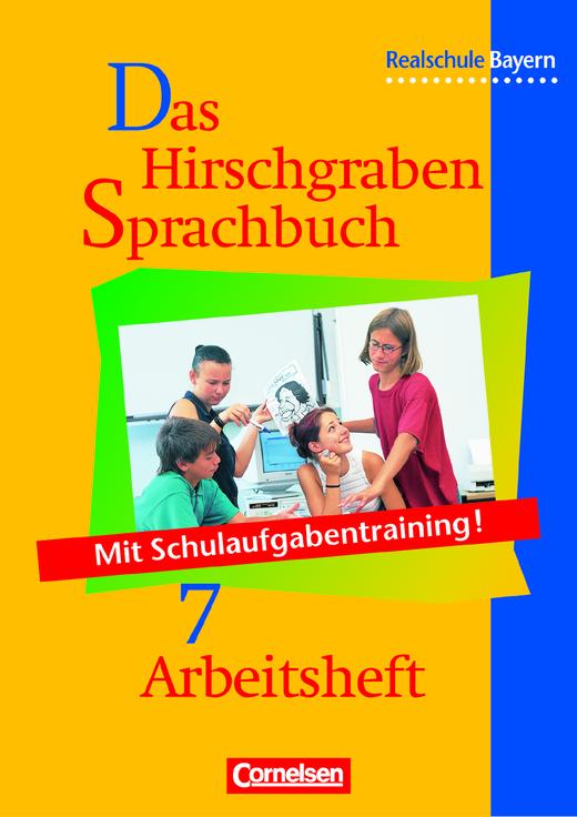Das Hirschgraben Sprachbuch - Arbeitsheft mit Lösungen - 7. Jahrgangsstufe