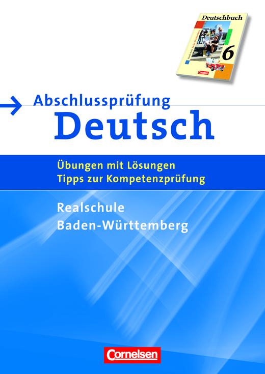 Abschlussprüfung Deutsch - Deutschbuch - Arbeitsheft mit Lösungen - 10. Schuljahr
