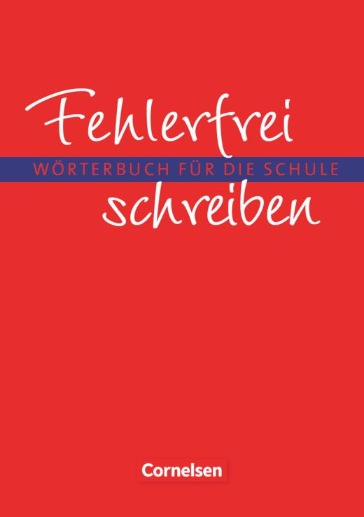 Fehlerfrei schreiben - Wörterbuch