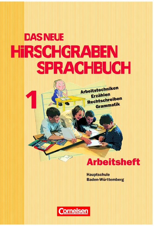 Das neue Hirschgraben Sprachbuch - Arbeitsheft mit Lösungen - Band 1