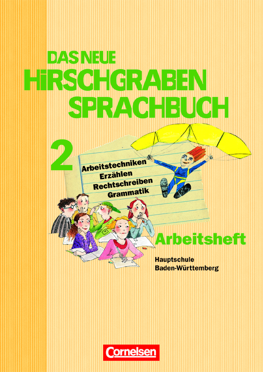 Das neue Hirschgraben Sprachbuch - Arbeitsheft mit Lösungen - Band 2