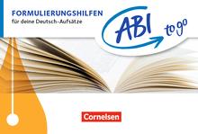 Abi to go - Formulierungshilfen - Für deine Deutsch-Aufsätze - Taschenbuch zum Nachschlagen und Üben