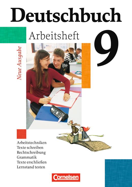 Deutschbuch Gymnasium - Arbeitsheft mit Lösungen - 9. Schuljahr - Abschlussband 5-jährige Sekundarstufe I