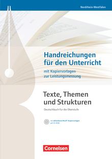 Texte, Themen und Strukturen - Handreichungen für den Unterricht, Kopiervorlagen und CD-ROM