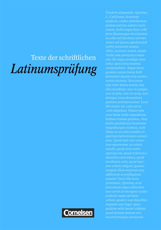 Texte der schriftlichen Latinumsprüfung - Prüfungsvorbereitung