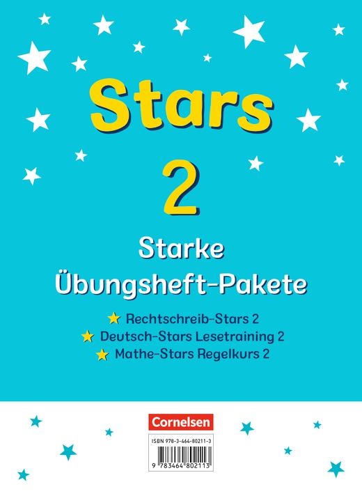 STARS - starke Übungshefte - Übungshefte im Paket mit Lösungen - 2. Schuljahr