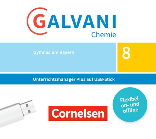 Galvani - Unterrichtsmanager Plus auf USB-Stick - Band 1: 8. Jahrgangsstufe